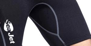 מכנס מגן לאופנוע ים תפרים